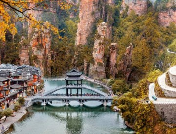 Khám phá di sản thiên nhiên thế giới & sắc màu phượng hoàng cổ trấn Nam Ninh - Phượng Hoàng Cổ Trấn - Thiên Môn Sơn - Trương Gia Giới