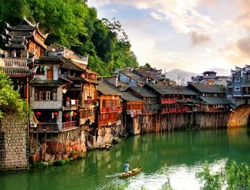 Khám phá di sản thiên nhiên thế giới & sắc màu Phượng Hoàng Cổ Trấn - Quý Châu - Phượng Hoàng Cổ Trấn - Thiên Môn Sơn - Trương Gia Giới